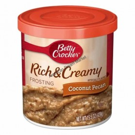 Betty crocker rich and creamy coconut pecan