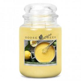 GC Grande jarre lemon vanilla cake batter