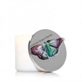 Décoration bougie BBW papillon vert