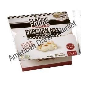 Popcorn box micro ondes sucré