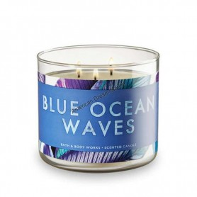 BBW bougie blue ocean waves