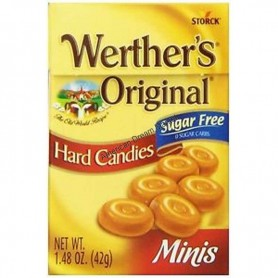 Werther's original sugar free minis