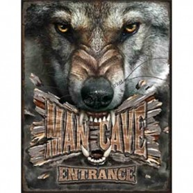 Legends man cave wolf