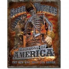Steel workers backbone