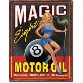 Magic eight motor oil