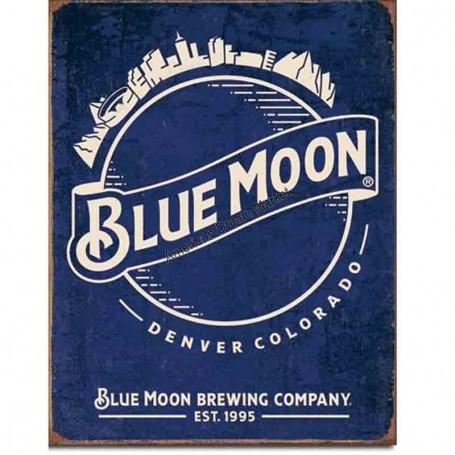 Blue moon skyline logo
