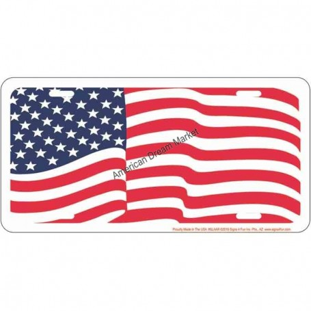 License american flag
