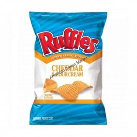 Ruffles cheddar and sour cream chips