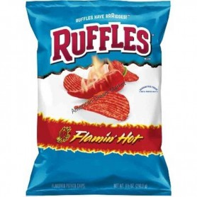 Ruffles flamin'hot chips