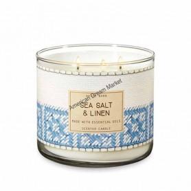 BBW bougie sea salt and linen