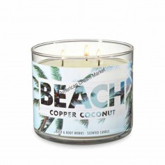 BBW bougie beach copper coconut
