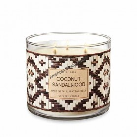 BBW bougie coconut sandalwood