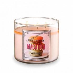 BBW bougie raspberry peach macaron