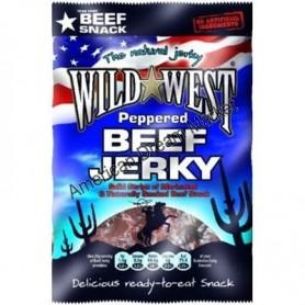 Wild West beef jerky poivre 85g