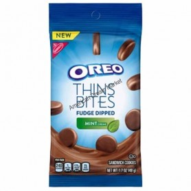 Oreo thins bites mint creme