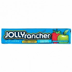 Jolly rancher hard candy strawberry green apple