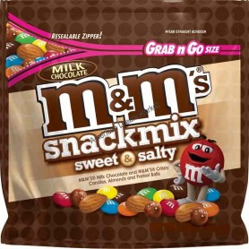 M&m's snack mix sweet and salty milk chocolate
