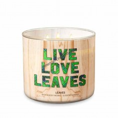 BBW bougie live love leaves
