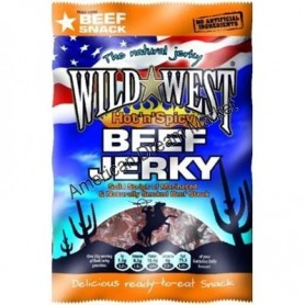 Wild West beef jerky hot'n'spicy 85g