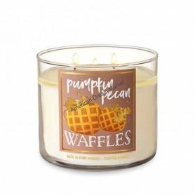 BBW bougie pumpkin pecan waffles
