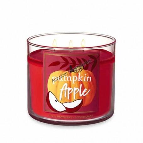 BBW bougie pumpkin apple