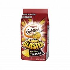 Goldfish flavor blasted nacho