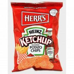 Herr's ketchup potato chips