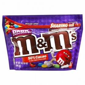 M&m's dark chocolate sharing size