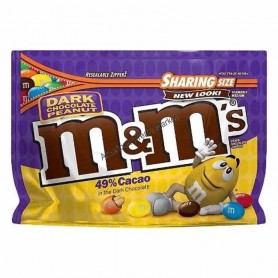M&m's dark chocolate peanut sharing size