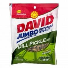 David sunflower seeds dill pickles