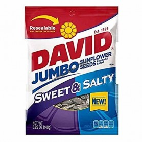 David sunflower seeds sweet and salty