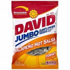 David sunflower seeds jalapeno hot salsa