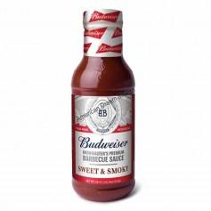 Budwaiser BBQ sauce sweet and smoky