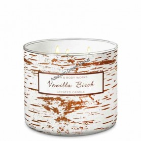 BBW bougie vanilla birch