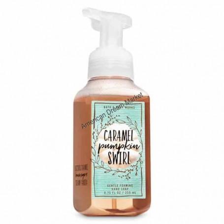 BBW savon moussant caramel pumpkin swirl