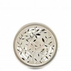 Scentportable silver vines vent clip