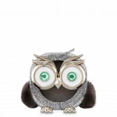 Scentportable sparkly owl visor clip