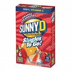 Sunny D sungles to go orange strawberry