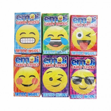 Emoji candy stick