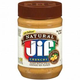 Jif natural crunchy