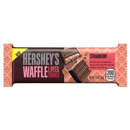 Hershey's waffle layer crunch strawberry