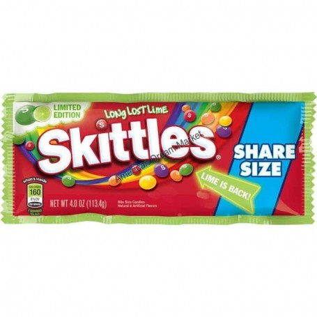 Skittle long lost lime share size