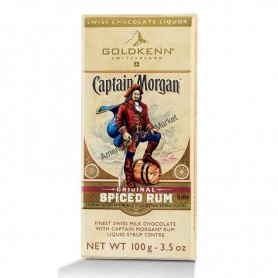 Captain morgan spiced rum chocolate
