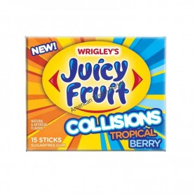 Wrigley's juicy fruit collisions tropical berry