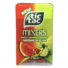 Tic tac mixers watermelon lime
