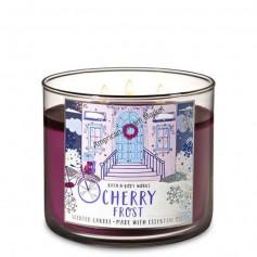 BBW bougie cherry frost