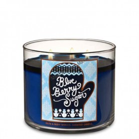 BBW bougie blue berry sugar