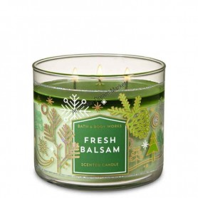BBW bougie fresh balsam