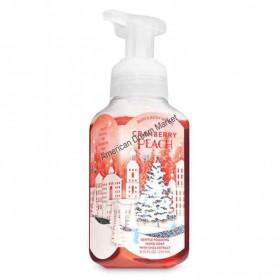 BBW savon moussant cranberry peach