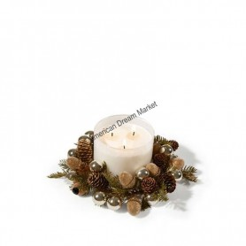 Porte bougie BBW gliterry pinecone